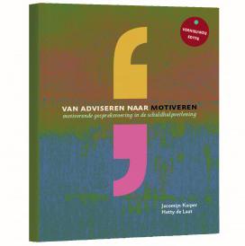Boek 'Van Adviseren naar Motiveren'